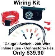 Add A Viair Wiring Kit & Gauge and Save